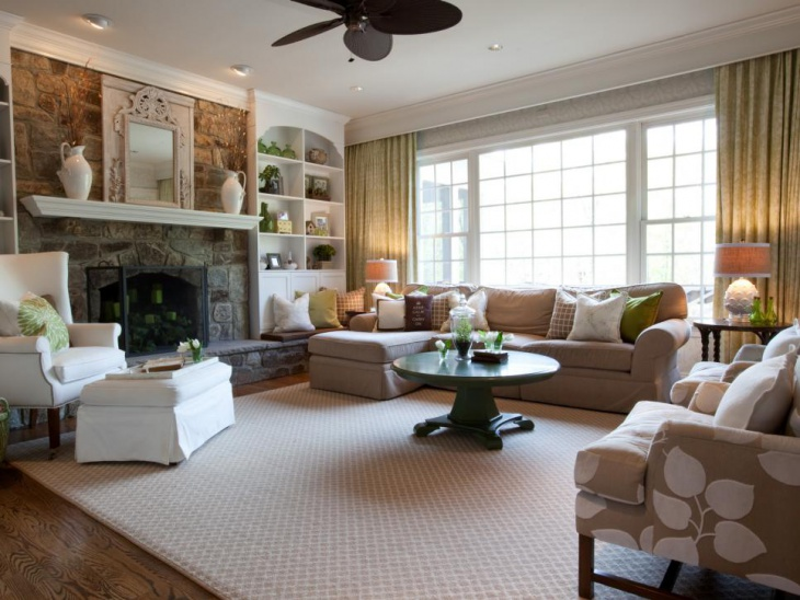 17 French Country Living Room Designs Ideas  Design