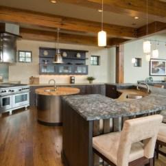 Two Tier Kitchen Island Wood Flooring In 18+ Modern Designs, Ideas   Design Trends ...