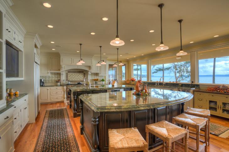 11 Double Kitchen Island Designs Ideas Design Trends
