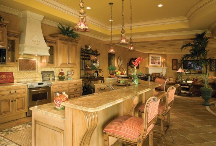 17 Tuscan Kitchen Designs Ideas Design Trends Premium Psd Vector Downloads