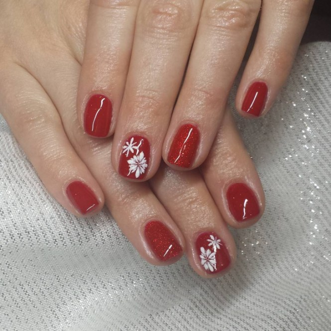 Christmas Nail Designs For Short Nails Red Green Easy