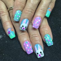 60+ Nail Art Designs, Ideas