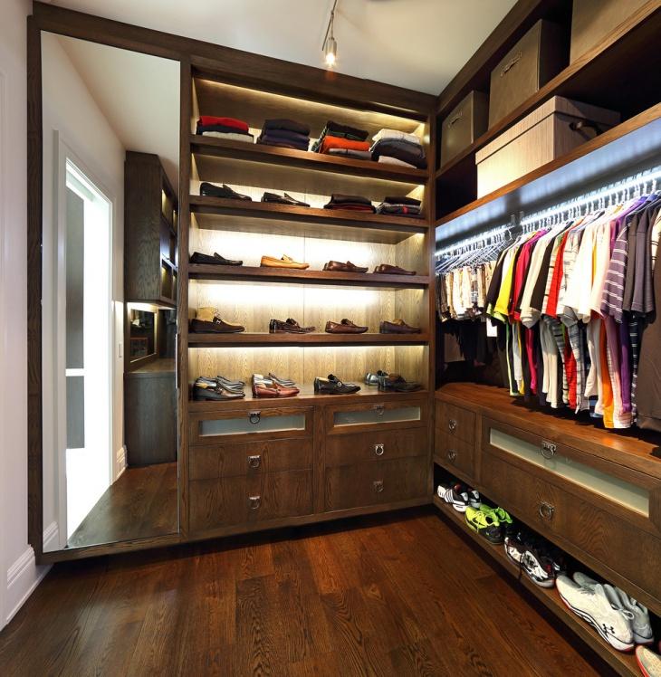 17 closet lighting designs ideas