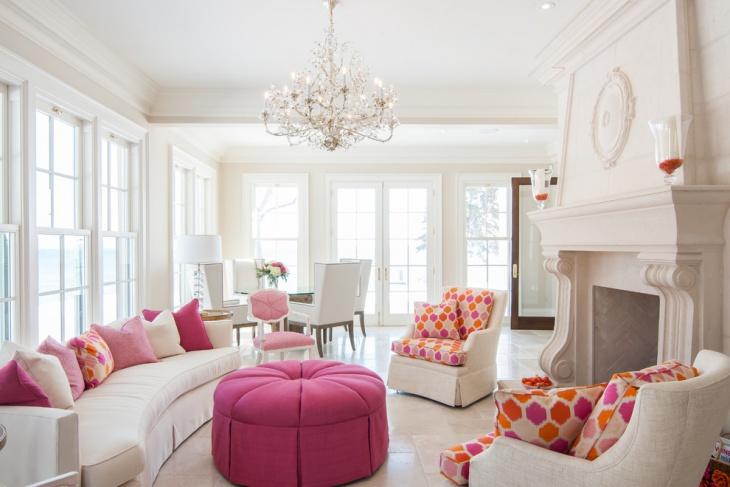 18 Feminine Living Room Designs Ideas Design Trends