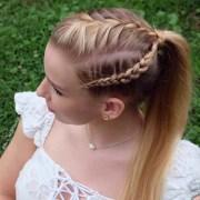 braid ponytail haircut ideas