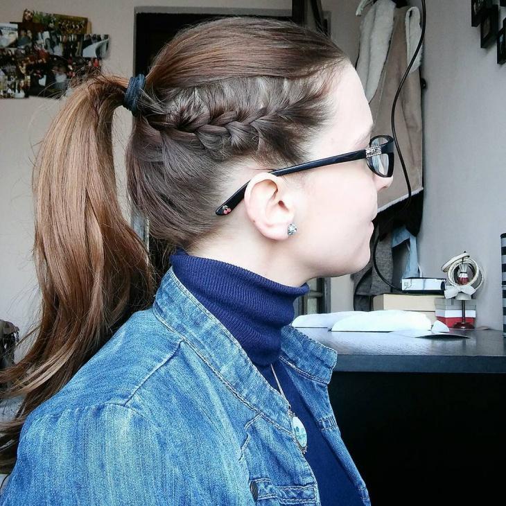 15 Braid Ponytail Haircut Ideas Designs Hairstyles