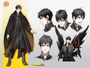 character design - psd eps