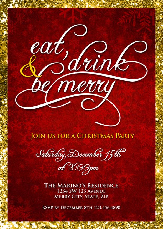 company christmas party invitation ideas : Cogimbo.us