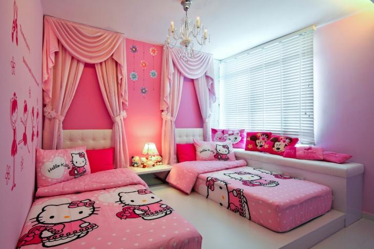 13 Hello Kitty Bedroom Designs Ideas  Design Trends  Premium PSD Vector Downloads