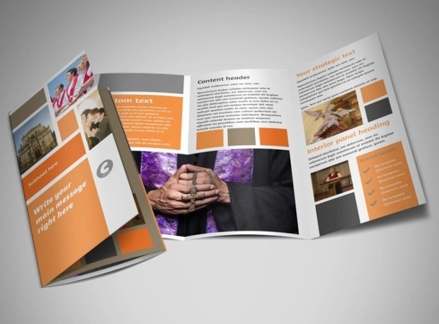 55 Brochure Designs Printable PSD AI InDesign Vector