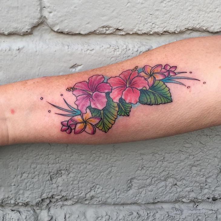Flower Tattoo Designs On Hand