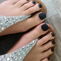 49+ Black Nail Art Designs, Ideas | Design Trends ...