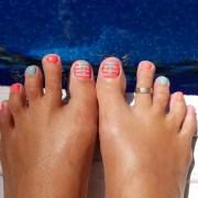 toe nail art design ideas