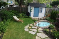 Hot Tub Backyard Design Ideas   Joy Studio Design Gallery ...