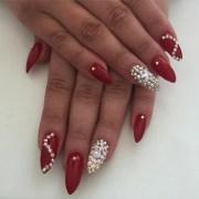 stiletto nail art design