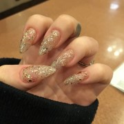 stiletto nail art design