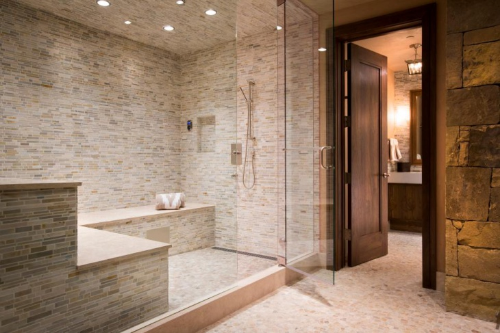 17+ Steam Shower Bathroom Designs, Ideas