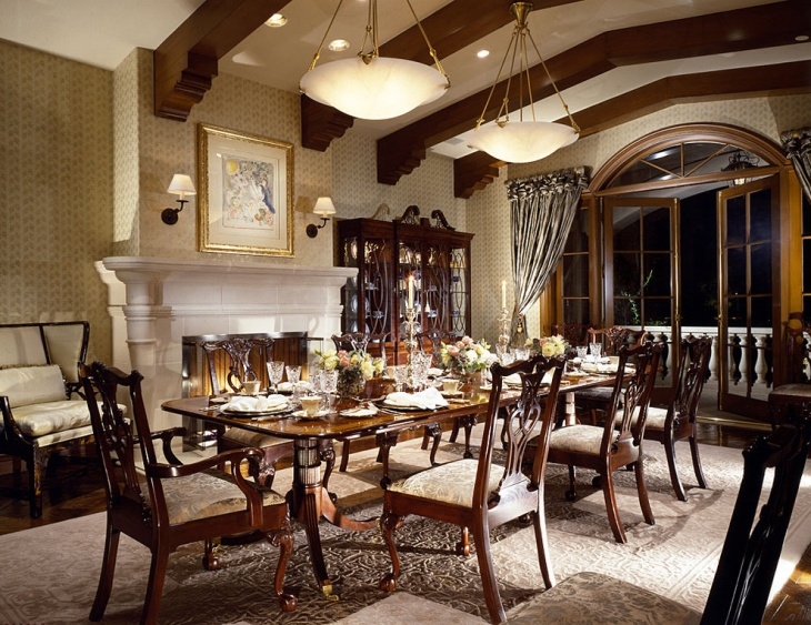 18 Gothic Dining Room Designs Ideas Design Trends