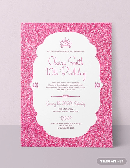 48 birthday invitations psd ai