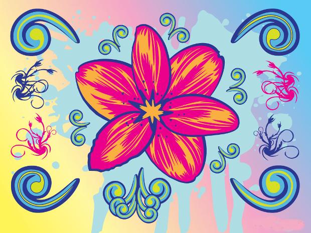 Hd Wallpaper Flower Girl Wedding 18 Flower Cliparts Vector Eps Jpg Png Design Trends