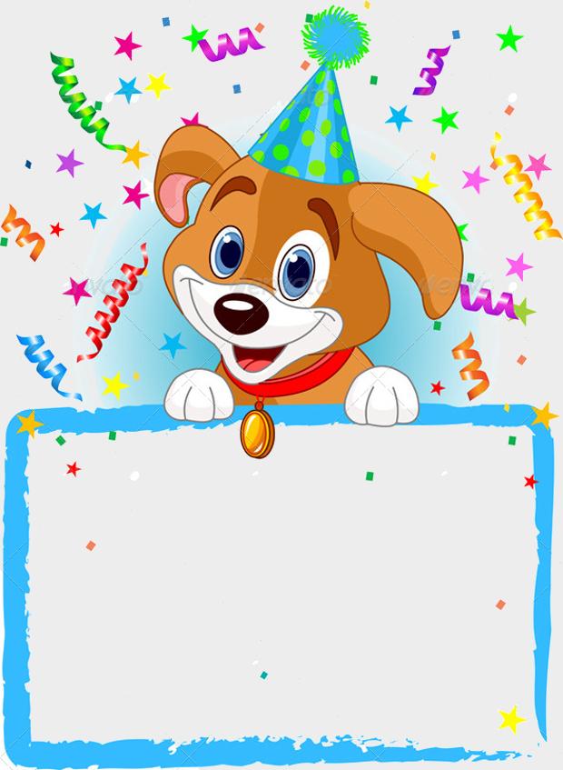 Printable Birthday Hats Dogs