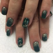 dragonfly nail art design