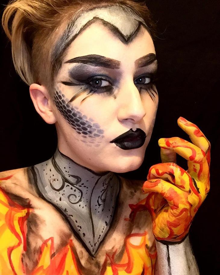14 Mythology Creature Makeup Designs Ideas Design
