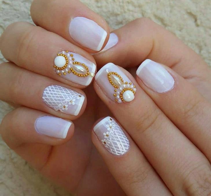 43+ Gel Nail Designs, Ideas