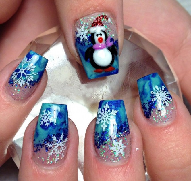 Mickey Mouse Christmas 3d Nail Art Step By Tutorial