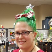 christmas hairstyle design