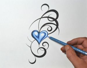 heart tattoo hearts drawing drawings designs tattoos tribal simple deviantart roses infinity double yahoo getdrawings rose paintingvalley trends js prom
