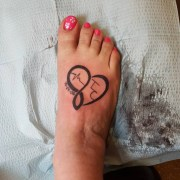 32 foot tattoo design ideas