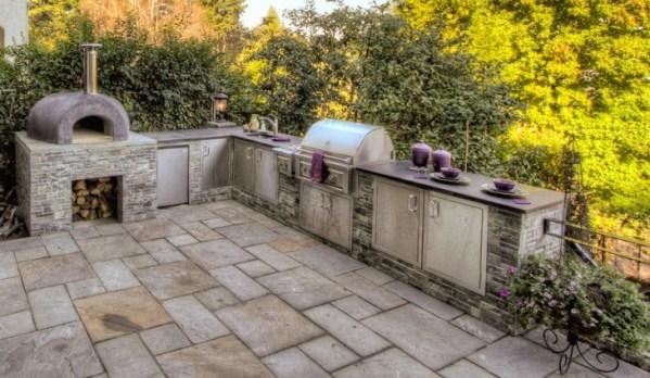 l shaped outdoor kitchen 30+ Outdoor Kitchen Designs, Ideas | Design Trends