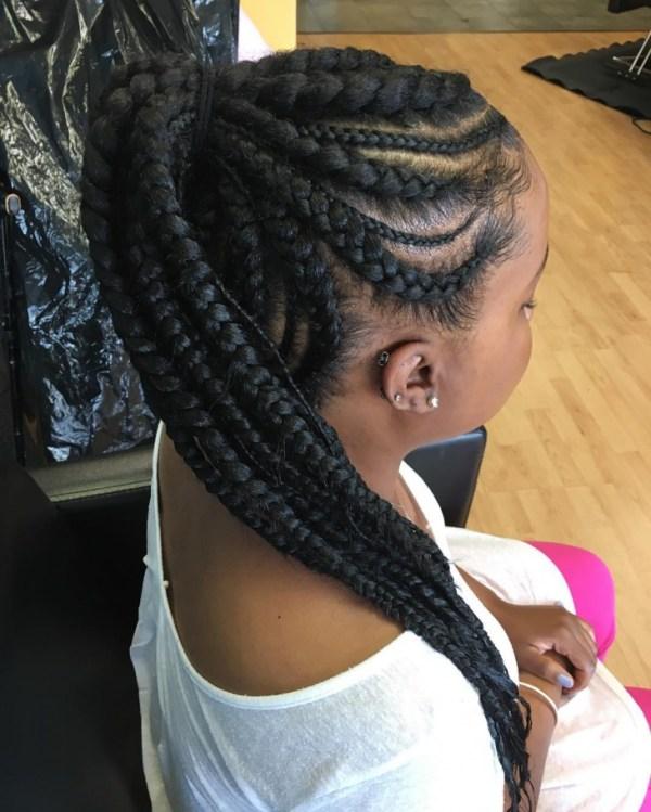 30 Braid Updo Hairstyles Weave Pony Pail Hairstyles Ideas Walk
