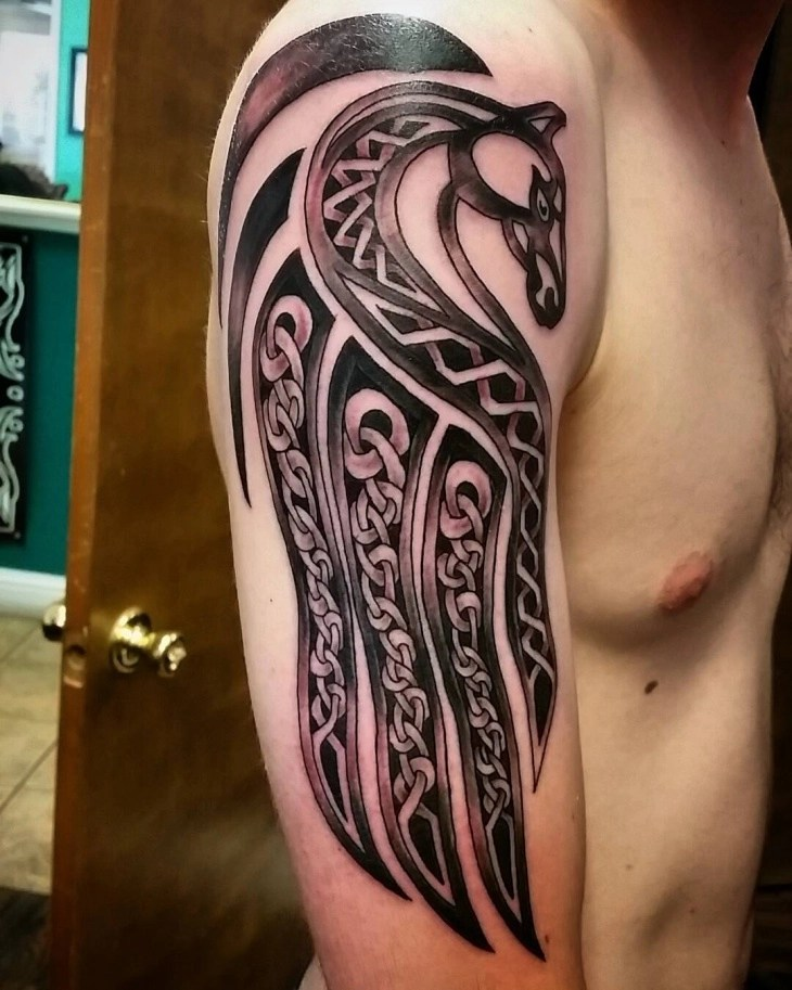 Dragon Half Sleeve Tattoo Designs