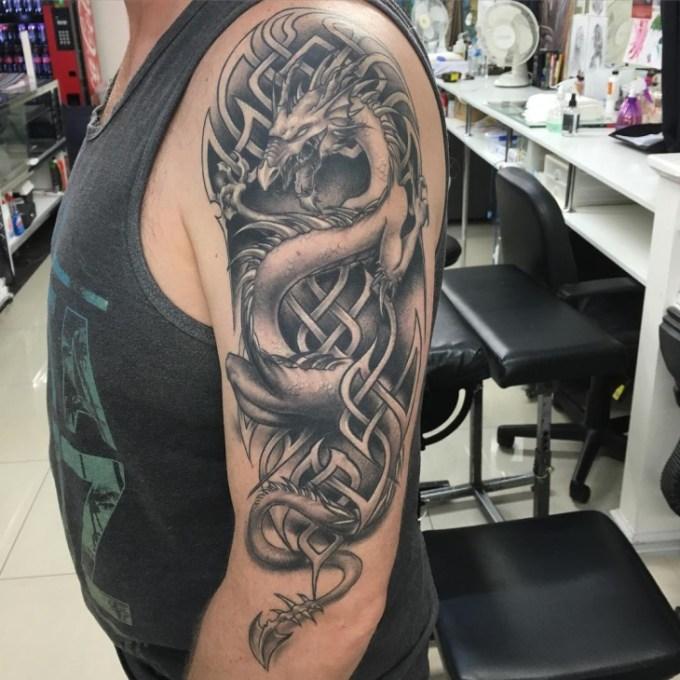 21+ Dragon Tattoo Designs, Ideas | Design Trends - Premium ...