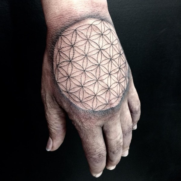 geometric tattoo design ideas