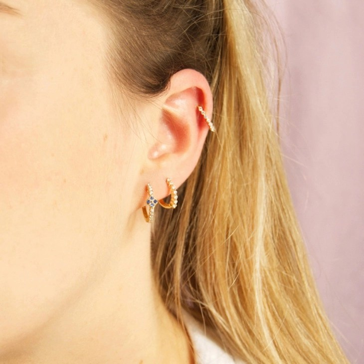 15+ Cartilage Earring Designs, Ideas