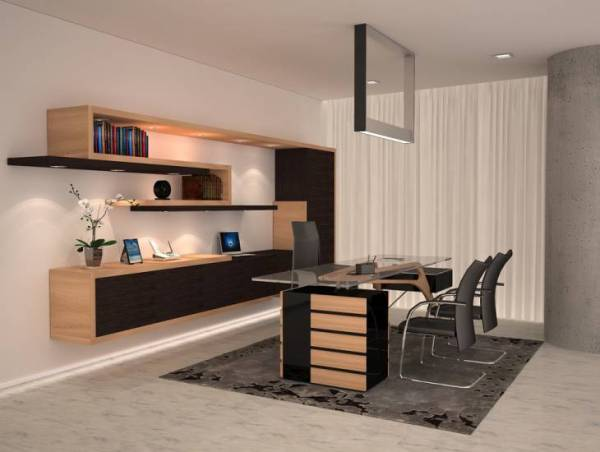 modern home office interior design 18+ Modern Office Furniture Designs, Ideas | Design Trends