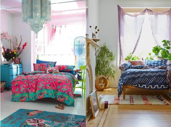 10 Bohemian Style Bedroom Design Ideas