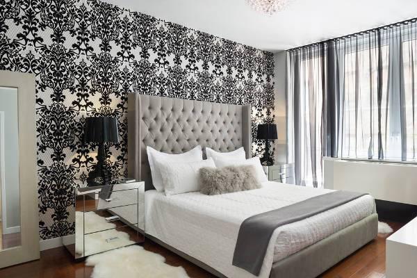 12 mirrored nightstand designs ideas