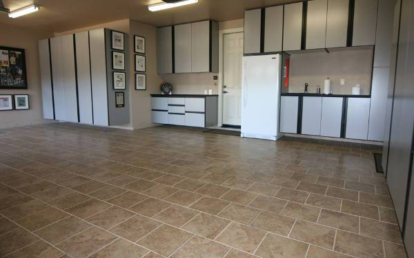 garage floor tile design ideas