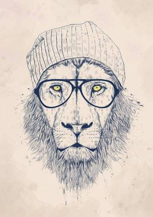 cool drawing animal lion drawings unique graphic