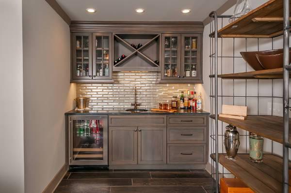 14+ Bar Cabinet Designs, Ideas
