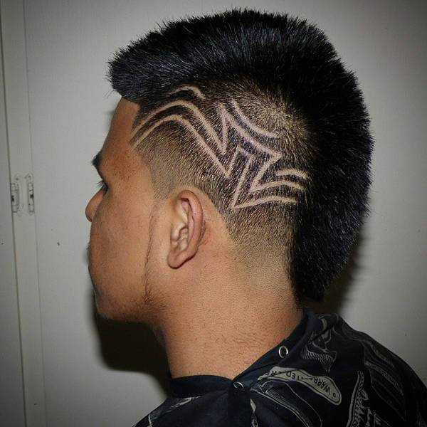 10 Mohawk Designs Ideas Haircuts Design Trends