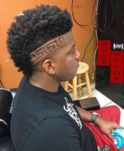 black men hairstyle design