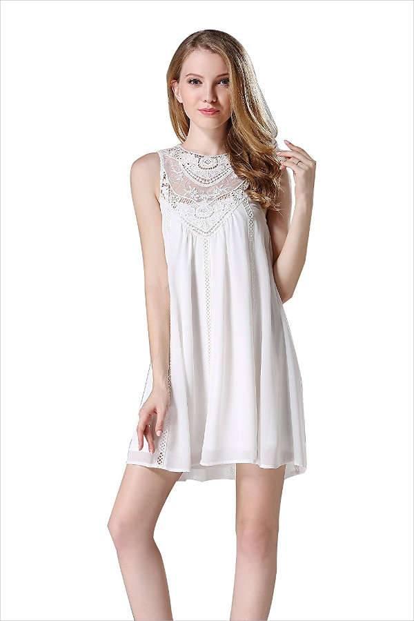 10 White Lace Dress Designs Ideas  Design Trends  Premium PSD Vector Downloads