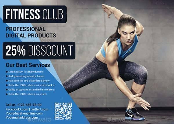 Fitness Flyer Designs Design Trends Premium PSD