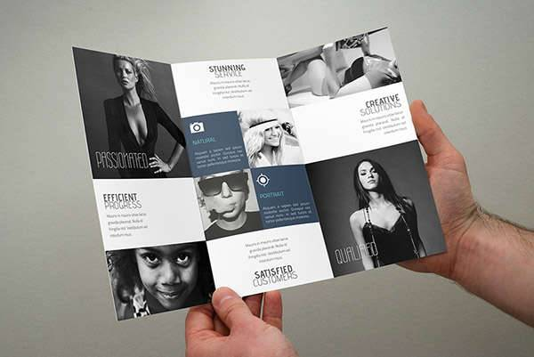 Printable Brochures Design Trends Premium PSD Vector