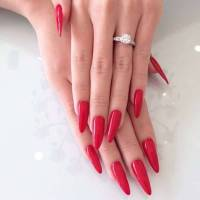 10+ Pointy Nail Designs, Ideas | Design Trends - Premium ...